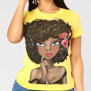 Beautiful girl shirt